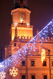 gammal poland poznan town Arkivbild
