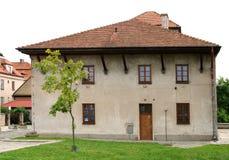 gammal poland sandomierzsynagoga Arkivbild