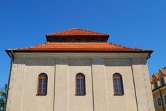 gammal poland sandomierzsynagoga Arkivfoton