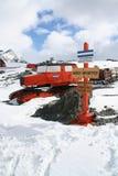 gammal polar traktor för 50-talca Arkivbild