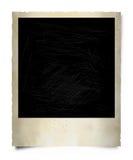 gammal polaroid för ram Arkivfoto