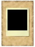 gammal polaroidvitage för ram stock illustrationer