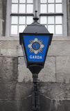 Gammal polislampa Royaltyfri Foto