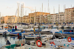 Gammal port - Palermo royaltyfri foto