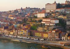 gammal porto portugal town royaltyfri fotografi