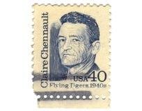 gammal portostämpel USA Royaltyfri Bild
