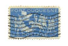 gammal portostämpel USA Royaltyfria Foton