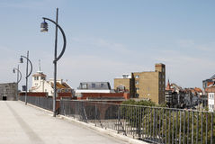 gammal portsmouth seafront uk Arkivfoto