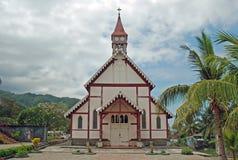 Gammal portugisisk katolsk kyrka, Flores, Indonesien Royaltyfri Bild