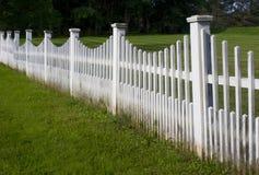 gammal posteringwhite för staket Royaltyfri Foto