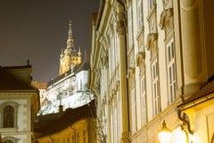 Gammal Prag stará Praha Arkivfoton