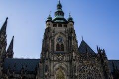 Gammal Prague kyrka i gammal stad av Prague royaltyfri bild
