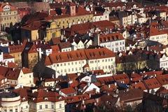 gammal prague town Royaltyfria Bilder