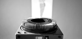 gammal projektor Royaltyfri Foto