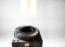 gammal projektor Royaltyfria Foton