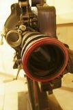 gammal projektor för 35mm film Arkivfoto