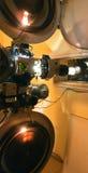 gammal projektor för film Royaltyfri Foto