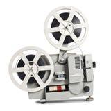 gammal projektor för film Arkivfoton