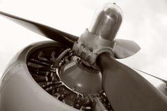 gammal propeller Royaltyfri Fotografi