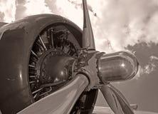 gammal propeller Arkivbild