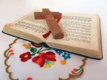 Gammal psalm - bok av farmodern fotografering för bildbyråer