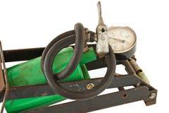 gammal pump för fot Royaltyfria Foton