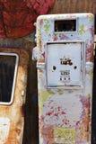 gammal pump för gas Arkivfoton