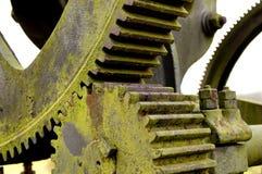 gammal pump för kugghjul royaltyfri bild