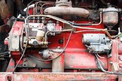 Gammal pumpmaskin. Royaltyfria Bilder