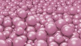 gammal purple för bollar Arkivbild