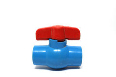 Gammal PVC-vattenventil Royaltyfria Bilder