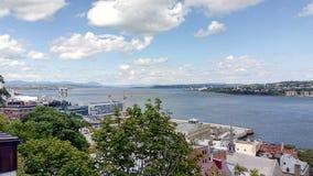 Gammal Québec stad Arkivfoton