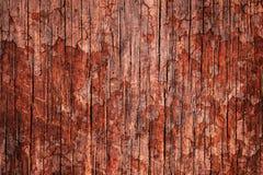 Gammal röd texturerad grungevägg för blodig fasa Arkivfoto