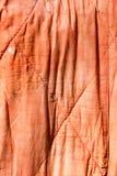 Gammal röd torkduk som bakgrund Arkivfoto