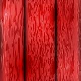Gammal röd träbakgrundsillustration Royaltyfri Illustrationer
