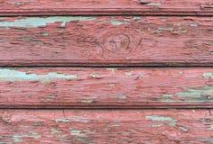 gammal röd vägg för bakgrund Royaltyfri Bild