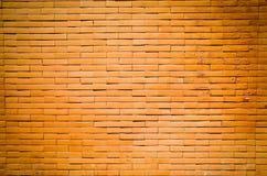 gammal röd vägg för tegelsten Arkivfoton
