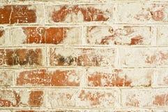 gammal röd vägg för tegelsten Royaltyfria Foton
