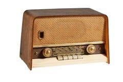 gammal radio Fotografering för Bildbyråer