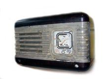gammal radio Arkivfoto