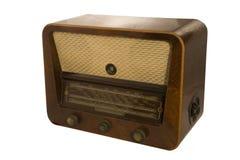 gammal radio Arkivbilder
