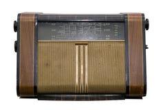 gammal radio royaltyfri bild