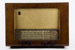 Gammal radio Royaltyfri Foto