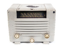 Gammal radio arkivbild