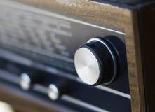 Gammal radio Arkivfoton