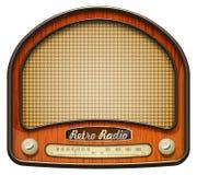 Gammal radio stock illustrationer