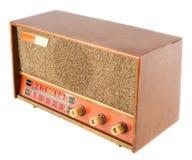 Gammal radio för tappning Royaltyfri Foto