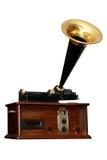 gammal radio för vinkel Arkivbilder
