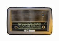 Gammal radio från det mitt- 20th århundradet Royaltyfria Foton