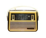 Gammal radio som är retro, tappning Royaltyfri Bild